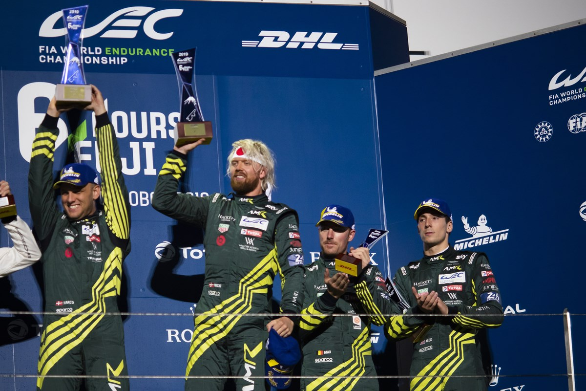 2019 / 2020 FIA World Endurance Championship Fuji, Japan 2nd - 6th October 2019 Photo: Drew Gibson